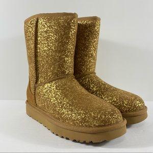 UGG Australia Classic Short II Foil Glam Boots
